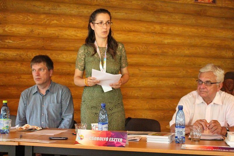 Dr. Csobolyó Eszter, a Pest megyei CIC szakmai vezetője. (Fotó: Felvidék.ma)