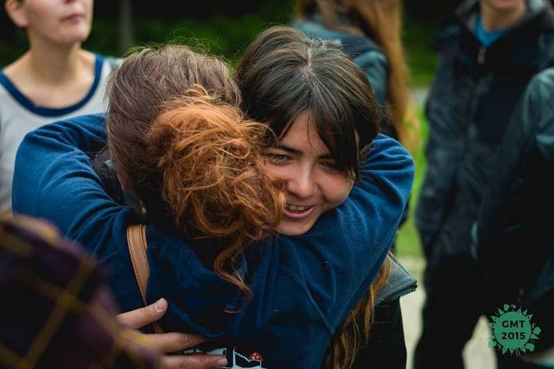 A találkozás öröme. Fotó: GMT
