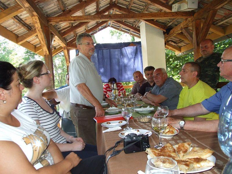 A Bodrogközi polgári társulások találkozója a királyhelmeci SZAKC iroda szervezésében (Fotó: SZL/Felvidék.ma)