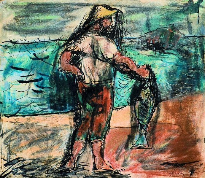 Szalay Lajos: Halász