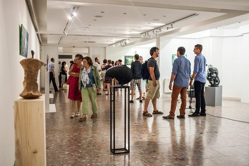 A tavalyi kiállítás-megnyitó. Fotó: Dunart.com