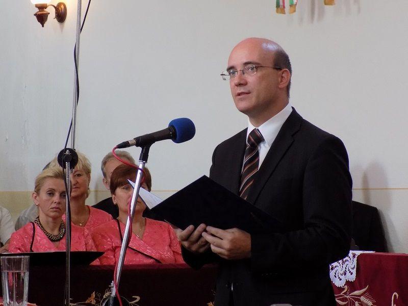 Maruzsa Zoltán miniszteri biztos (Fotó: Homoly Erzsó/Felvidék.ma)