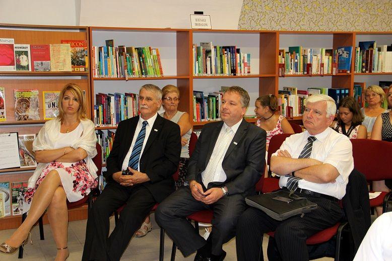 A konferencia a könyvtárban zajlott (Fotó: Balassa Zoltán)