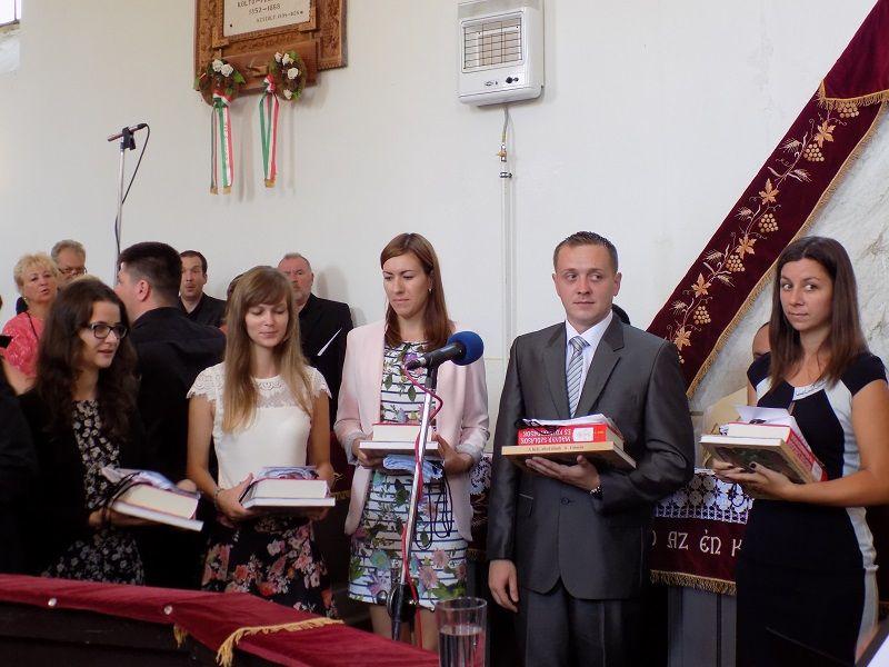 Bemutatkoztak a pályakezdő pedagógusok (Fotó: Homoly Erzsó/Felvidék.ma)