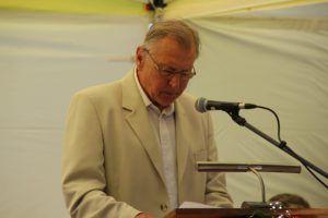 Batta György tartotta az ünnepi beszédet (Fotó: Pásztor Péter)