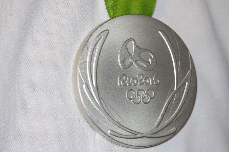 A 2016-os nyári játékok ragyogó ezüstérme (Fotó: Szalai Erika/Felvidék.ma)