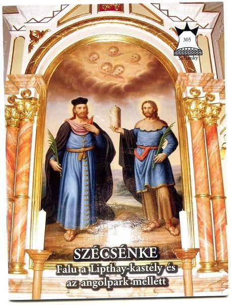 A Honismereti Kiskönyvtár füzete a faluról. Csáky Károly felvétele