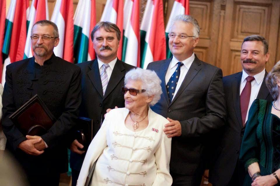 A Külhoni Magyarságért Díj átadóján 2014-ben
