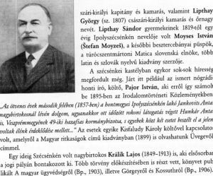 A jeles szécsénykeiket tárgyaló fejezet. Csáky Károly repr.