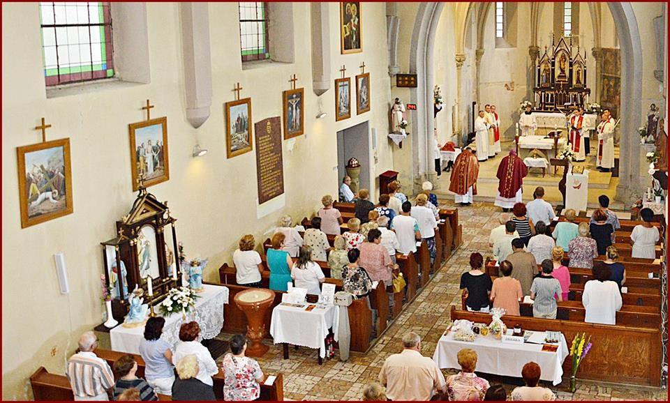 Az ünnepi szentmise (Fotó: Pavel Polka)