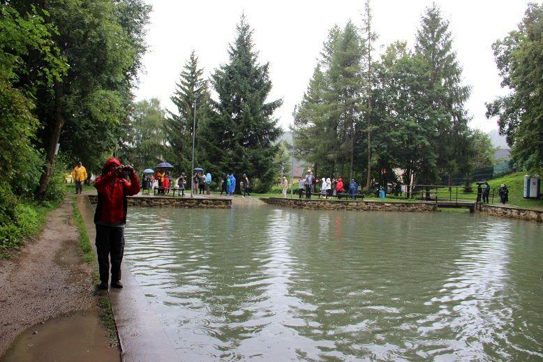 A tó, amelyben fürödni lehet (Fotó: Balassa Zoltán/Felvidék.ma)