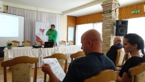 Grezsa István előadása (Fotó: Gecse Géza/Felvidék.ma)