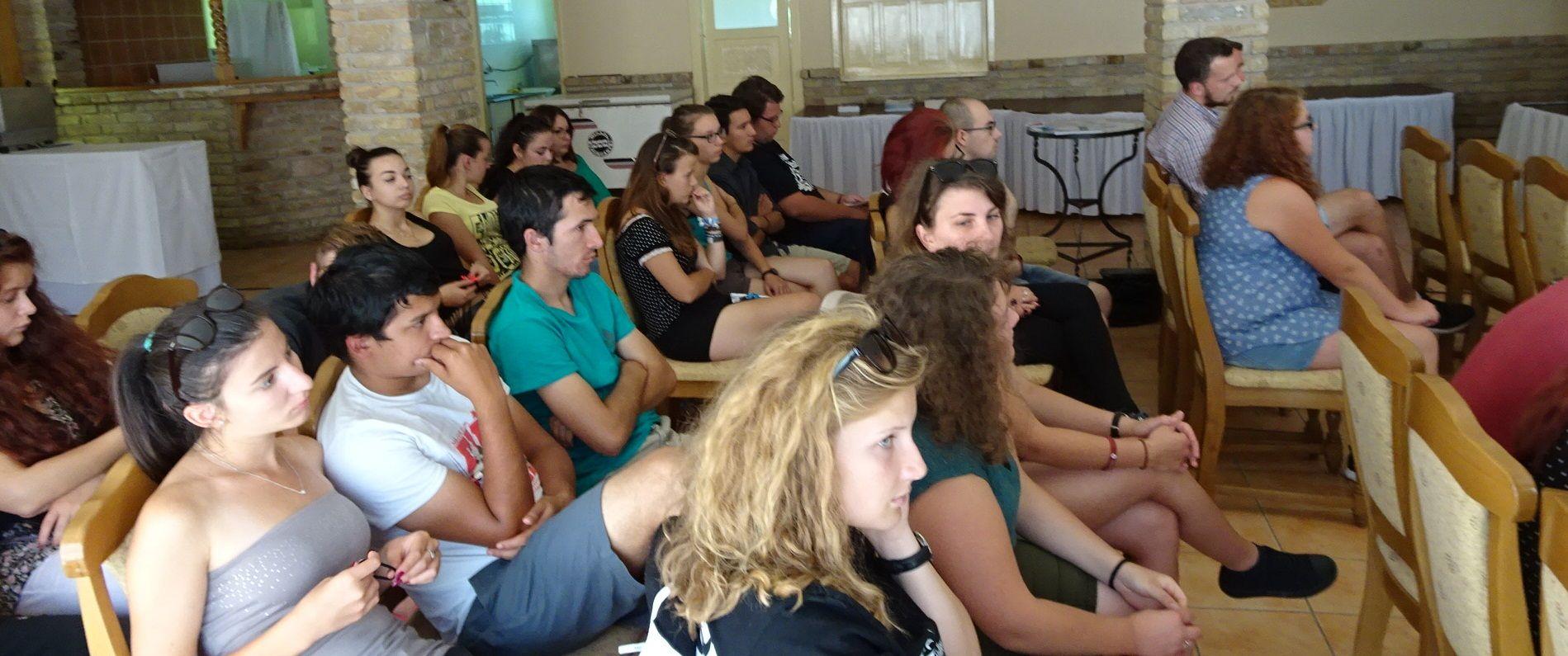 A közönség egy része. Fotó: Gecse Géza