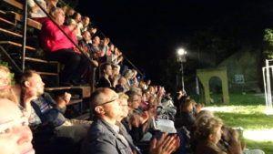 A közönség soraiban Zelei Miklós és Duray Miklós (Fotó: Gecse Géza/Felvidék.ma)
