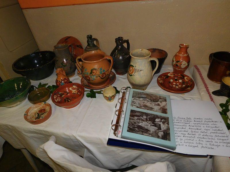 Kis kiállításon mutatták be a község fazekas múltját (Fotó: Tóth Tímea)