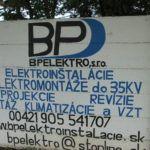 Ez is csak szlovákul hirdet. (Fotó: Csáky Károly)