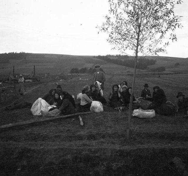 Háborús menekültek 1914-ben. Fotó: fortepan.hu