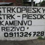 Ha kavics és homok kell, tanulj meg szlovákul (Fotó: Csáky Károly)