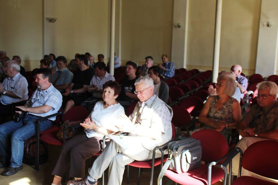 A hallgatóság egy része Fotó: Pásztor Péter