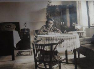 Ilonka néni aktív pedagógusi korában (Fotó: Tamás Ilonka néni családi albumából)
