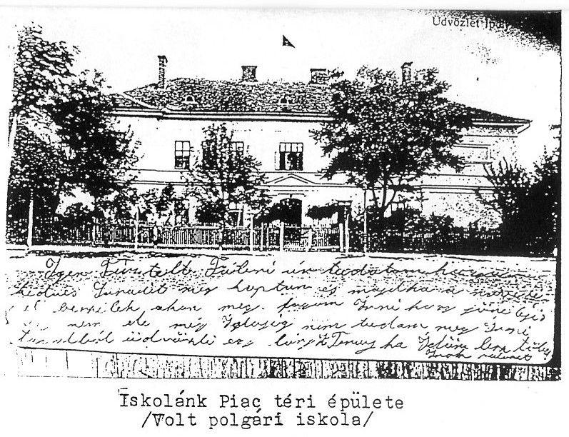 Kép Csáky Károly az Iskolai Emléksorok III. c. kiadványából