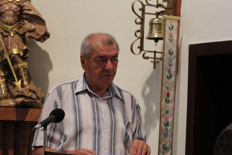 Kovács László Éberhardon (Fotó: Neszméri Tünde/Felvidék.ma)