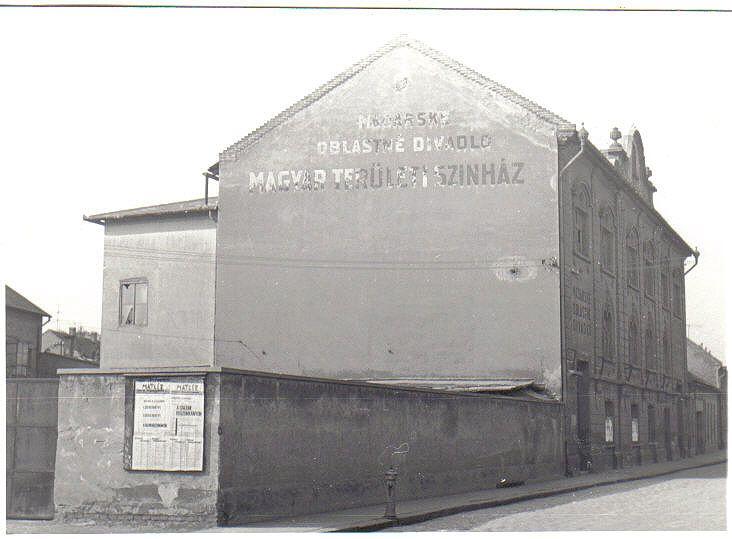 Alkalmi filmvetítések színhelye volt a Katolikus Legényegylet, később a Magyar Területi Színház ma már nem létező székháza is