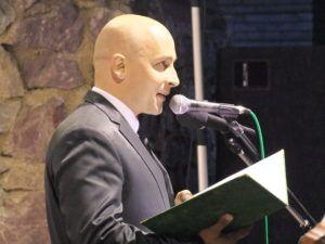Menyhárt József ünnepi beszéde (Fotó: Tóth Klára/Felvidék.ma)