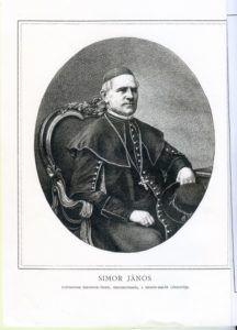 Simor János érsek, a Szondi-kultusz támogatója. Csáky Károly reprodukcióján
