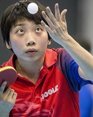 Wu Yue lesz az első fordulóban az ellenfél. Fotó: ITTF
