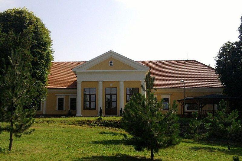 A kastély ma szociális otthon (Fotó: Wikipédia)