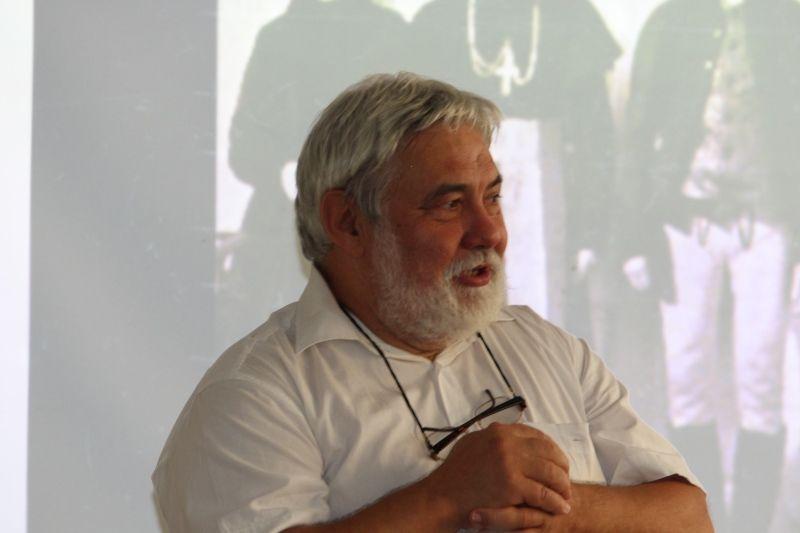 Molnár Imre, a Pozsonyi Magyar Intézet igazgatója (Fotó: Neszméri Tünde/Felvidék.ma)