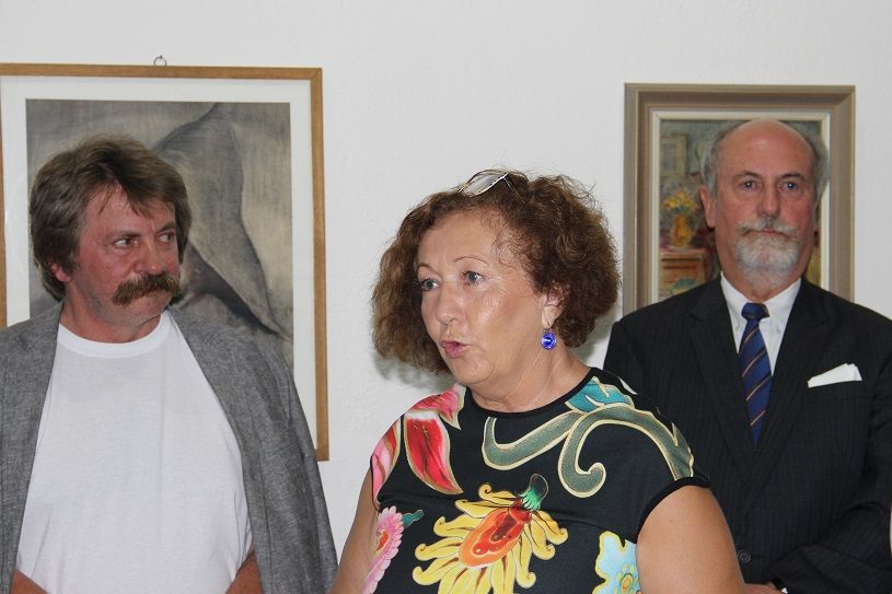 Papp Ferenc, Milena Gašajová és Forster Jakab (Fotó: Balassa Zoltán/Felvidék.ma)