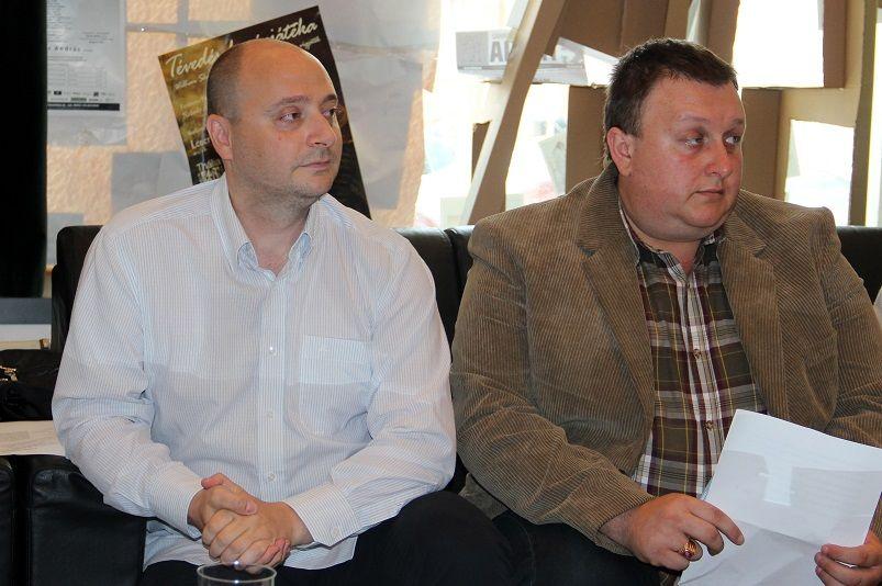 Czajlik József és Szpisák Gyula (Fotó: Balassa Zoltán/Felvidék.ma)