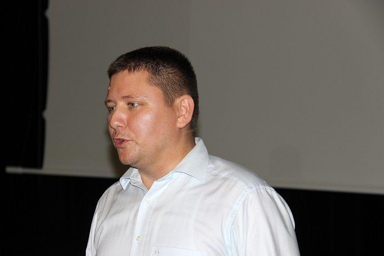 A vendégeket Bitay Levente, konzul üdvözölte. (Fotó: Balassa Zoltán/Felvidék.ma)