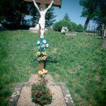 Központi temetőkereszt Hévmagyaradon (Fotó: Csáky Károly)