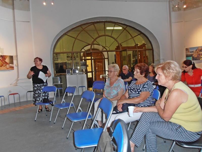 A közönség egy része (Fotó: a szerző felvétele)