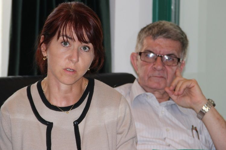 Jopek Éva és Kolár Péter (Fotó: Balassa Zoltán/Felvidék.ma)