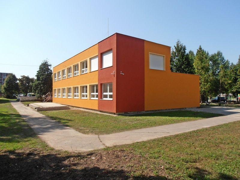 Az új épület. (Fotó: Bárány János/Felvidék.ma)