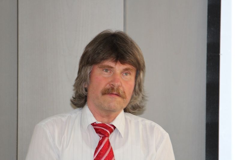 Okos Márton, a Márton Áron Emlékév kezdeményezője (Fotó: Neszméri Tünde/Felvidék.ma)