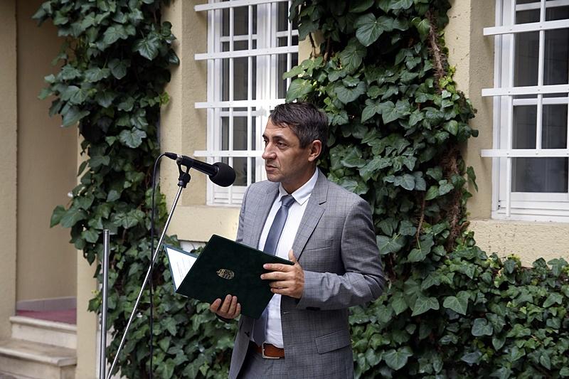 Potápi Árpád János, a Miniszterelnökség nemzetpolitikáért felelős államtitkára (Fotó: Hideghéthy Andrea/Felvidék.ma)