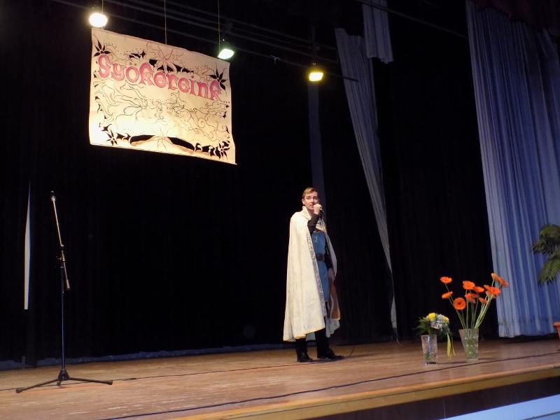 Gyökereink – emlékidéző találkozó, Vanya Róbert előadása (Fotó: Berényi Kornélia/Felvidék.ma)