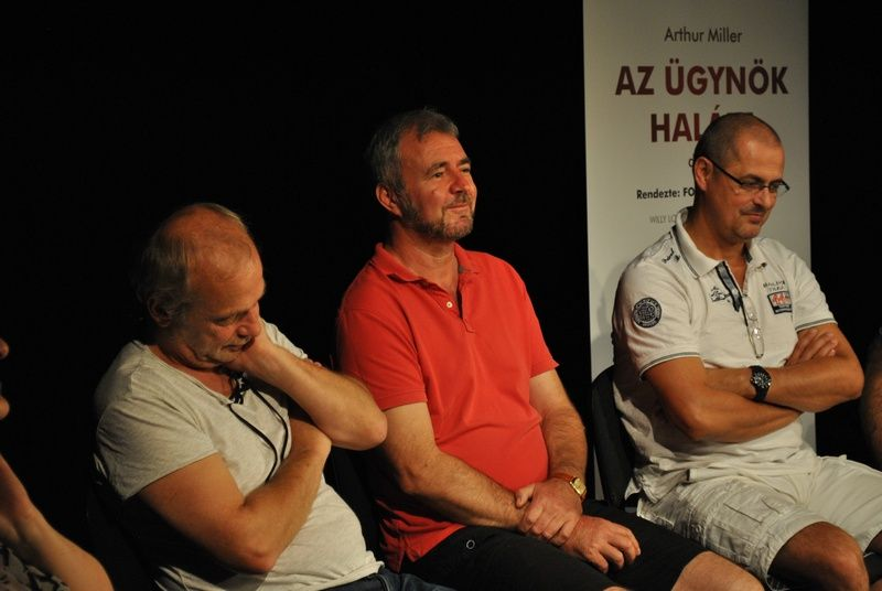 Mokos Attila, Skornka Tibor, Tóth Tibor Jászai Mari-díjas (Fotó: Klinko Fanny)