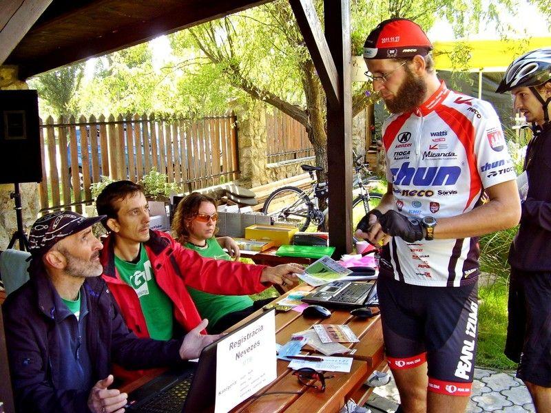 Bujna Zoltán, a biciklis dervis három éve. Az idén is indul. (Fotó: Bárány János/Felvidék.ma)