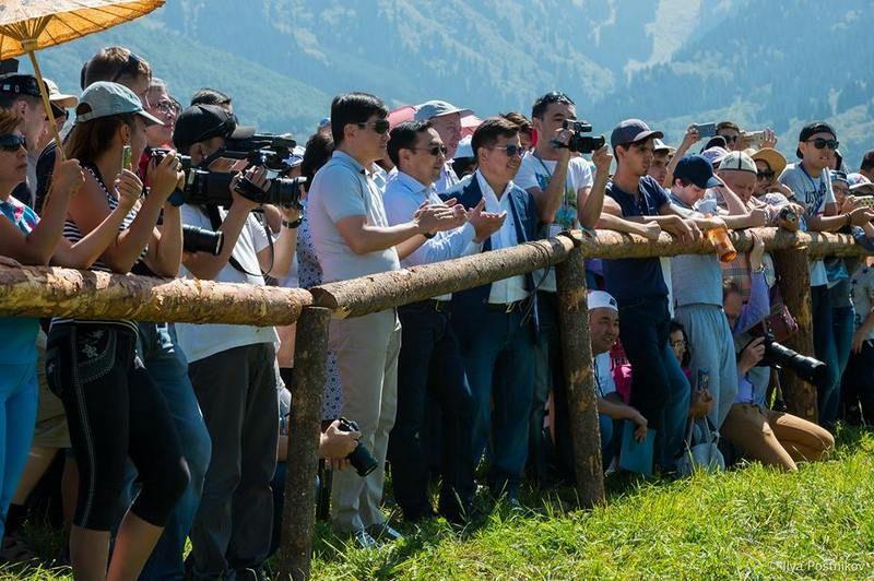 A kazahsztáni közönség (Fotó: Vermes István archívuma)