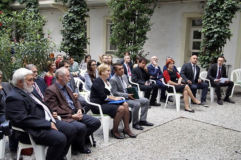A megnyitó vendégei (Fotó: Hideghéthy Andrea/Felvidék.ma)
