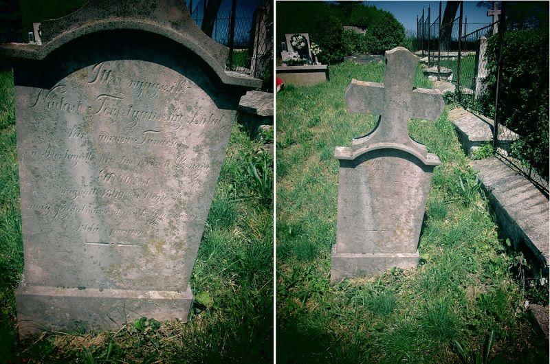 Tersztyánszky Antal sírjele (Fotó: Csáky Károly)