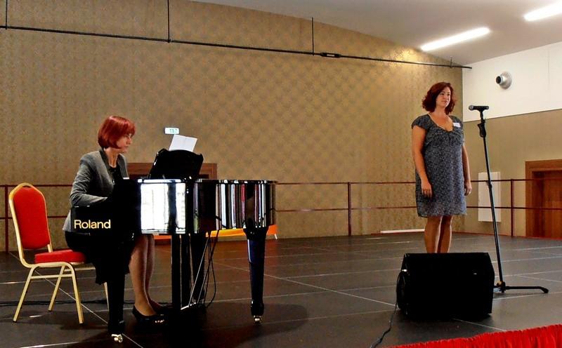 A somorjai Csémy Erika volt az első versenyző. (Fotó: Bárány János/Felvidék.ma)