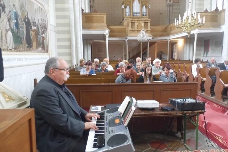 Lupták György, a Magyarországi Evangélikus Egyház Missziós Bizottságának elnöke (Fotó: Beke Beáta)