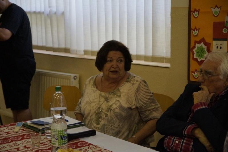 Kovács Gergelyné Szabó Irén néprajzkutató, muzeológus (Fotó: Hideghéthy Andrea)